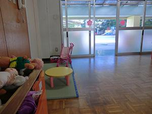 年少組の保育室です